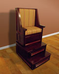 FURNITURE 1 of 21 - Shoeshine Chair